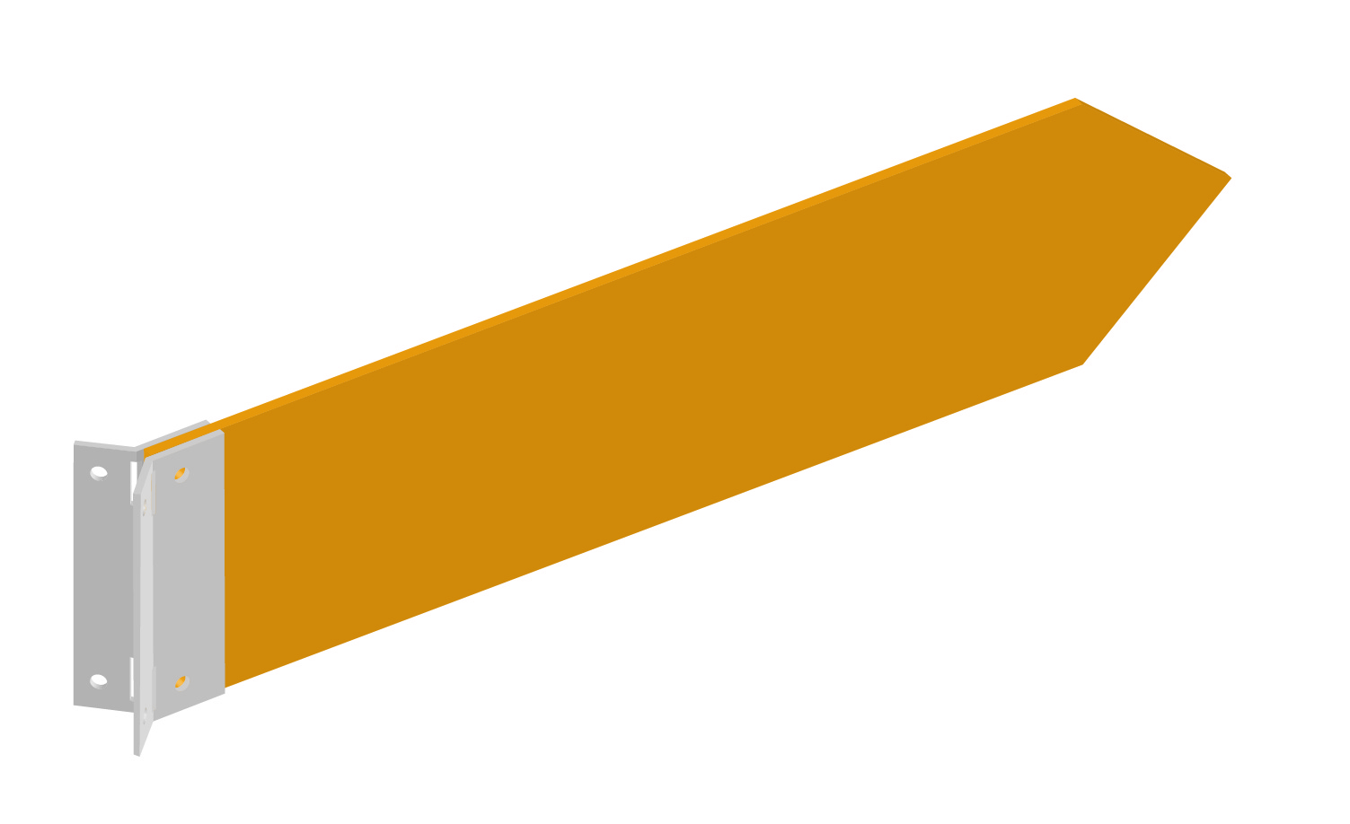 Befestigungsmodul Wegweiser Wurzelbefestigung